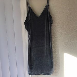 Lf velvet mini dress NWT